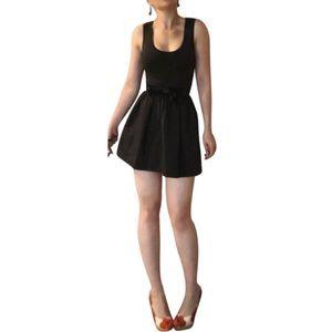 Anna Sui Henri Bender Lil Black Mimi Dress SZ 6
